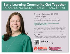 Community Event and Academic Talk with Angela Pyle, February 11